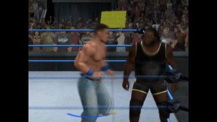 Wwe Svr 2010:john Cena vs Mark Henry normal match