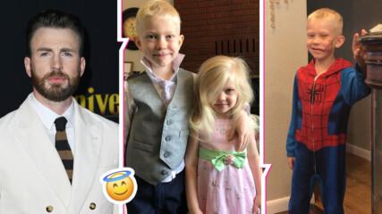 6-годишният герой, който спаси по-малката си сестричка от зло куче, звезди реагираха
