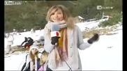 Блондинка репортер - смях