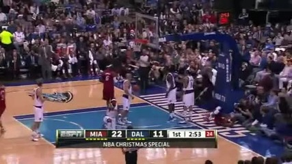 Miami Heat @ Dallas Maverics 105 - 94 [25.12.2011]