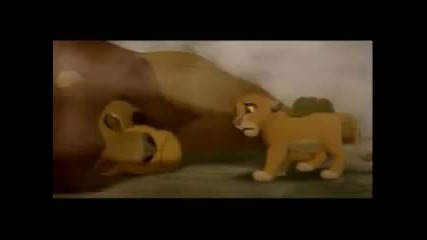 The Lion King with Classic Sad Song