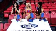 Мажоретките на Crystal Palace танцуват на Gangnam Style