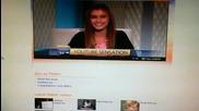 N E W* Сладураната от Топ 40 - Sarah с интервю в - Channel 9 News!
