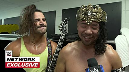King Nakamura has gold on his mind: July 30, 2021
