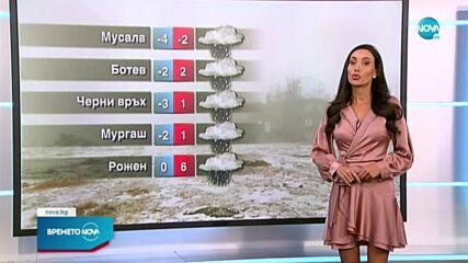Прогноза за времето (15.10.2021 - обедна емисия)