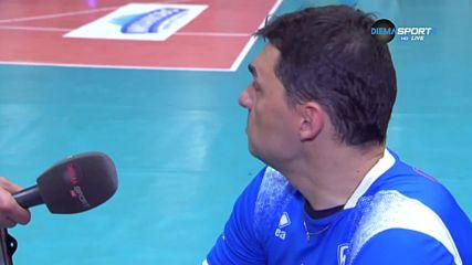 Владимир Николов: ЦСКА ни надигра със сервис