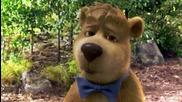 3/5 Мечето Йоги * Бг Аудио * комедия (2010) Yogi Bear # Warner Bros. [ hd ]
