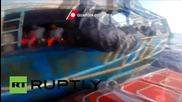 Italy: Coastguards pick up 234 migrants off the coast of Sicily