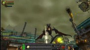 Wow Cataclysm Beta - Goblin Escape from Kezan Cinematic and Footbombing Deathwing in the Face