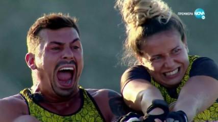 Игри на волята: България (13.11.2019) - част 2: Веско и Роберта са невиждано силни заедно!