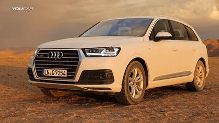 2016 Audi Q7 - Обиколка в Намибия