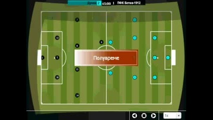 Gameplay На Футболна Игра