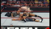 Wwe Fatal 4 Way Wwe Championship Fatal 4 - Way Match part 2