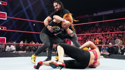 Seth Rollins, Becky Lynch, Baron Corbin and Lacey Evans get Extreme: Raw, June 24, 2019