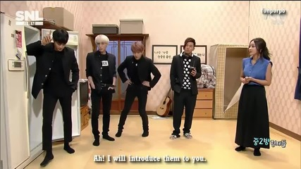 [eng] 150530 Shinee Snl Korea - [the ill brothers] part 1
