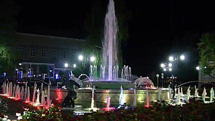 Фонтанът пред Историческия музей в гр. Русе