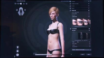 E3 2011: Eve Online: Incarna - Character Creator Walkthrough