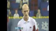 Federer Vs Davidenko - Shangai 2007
