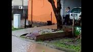 Лозово - 28.12.2009 - Наводнението 3 ул. Роза