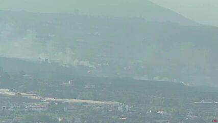 Spain: Smoke billows on La Palma as volcanic activity continues