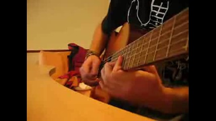 Pirates of the Caribbean [main Theme] on guitar