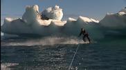 Сърфиране на Wakeboarding в Аляска ...