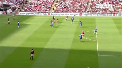 Красиво попадение на Димитър Бербатов срещу Челси (hd)