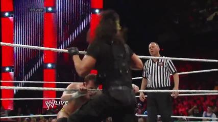 Cm Punk vs. Seth Rollins- Raw, Dec. 30, 2013