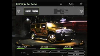 Need For Speed Underground 2 Tuning Cars