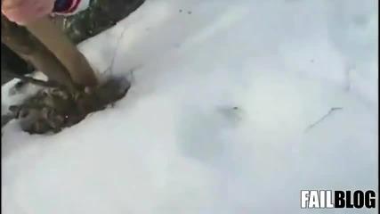 Идиот на леда
