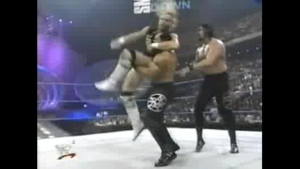 Wwf Smackdown - Acolytes vs. Mr. Ass ( Хандикап Мач ) 06.01.2000