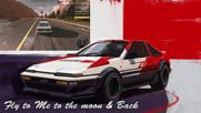 Initial D - Fly to Me to the Moon Back