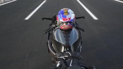 Kawasaki H2r - World Record 400 km_h in 26 sec. - Hd