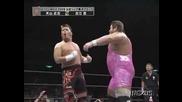 G1 Climax Hiroyoshi Tenzan vs. Yutaka Yoshie 08/16/08