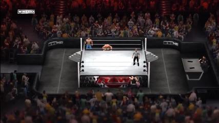 Wwe '12_ Brock Lesnar & Jeff Hardy vs John Cena & Zack Ryder