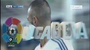 Чудовищната греда на Бензема срещу Барселона
