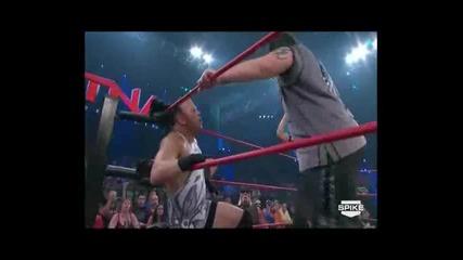 Rob Van Dam vs. Abyss - Tna Impact 21.04.11