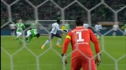 Волфсбург 0:2 Евертън ( лига европа ) ( 27.11.2014 )
