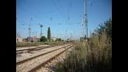 Товарен влак с локомотив 46033