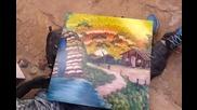 Уличен талант рисува удивително