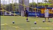 Как да стреляме от пряк свободен удар като Роналдо