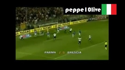 Парма 2 - 0 Бреша - Гол на Валери Божинов 29.08.10
