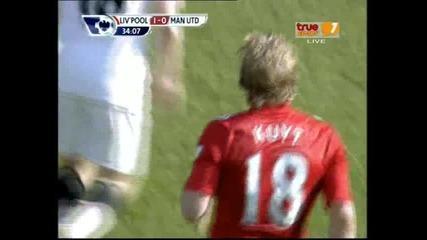 06.03.2011 Английска висша лига: Ливърпул 1 - 0 Манчестър Юнайтед - Kuyt (3 - 1)
