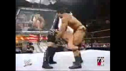 Rob Van Dam vs. Batista - Wwe Raw