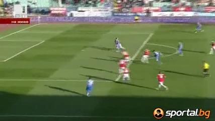 Левски победи Цска с 1:0 в вечното дерби и върна интригата в първенството!!! 29.04.2012