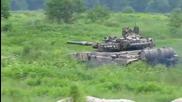 Да постреляме с Т-90а