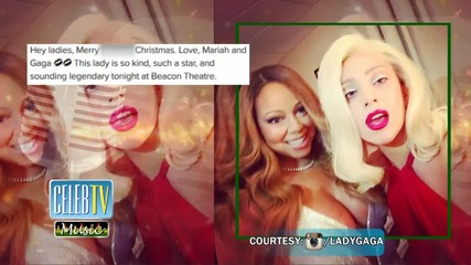 Diva Alert! Lady Gaga and Mariah Carey's Selfie!
