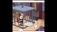 Гравити фолс комикс на дневник номер 4