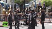 Thailand: Forensic teams get to work at site of Bangkok bombing