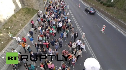 Slovakia: Tens of thousands march against abortion in Bratislava